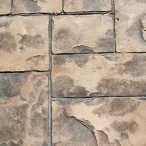 Stamped Cement 5