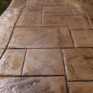 Stamped Cement 6